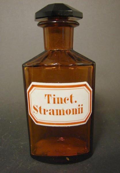 Apothekenflasche Tinct. Stramonii.