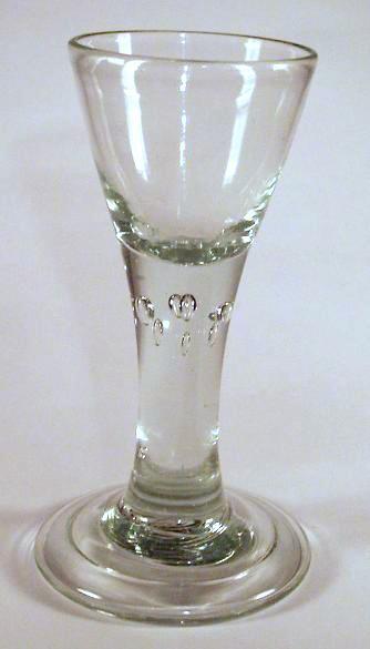 Barock - Kelchglas. Lauenstein, 18.Jh.