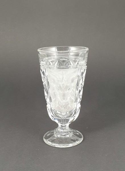 Bockbierglas, um 1900.