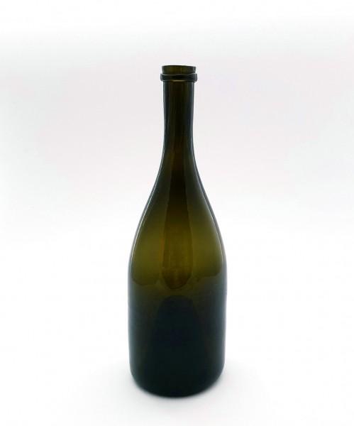 Weinflasche. Frankreich, 1. Hälfte 19. Jh.
