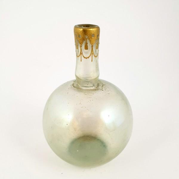 Jugendstil - Vase, wohl Josephinenhütte / Heckert, um 1900.