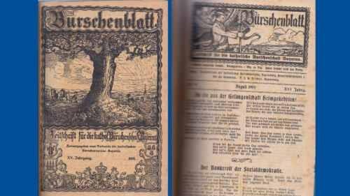 Studentika - Burschenblatt / Zeitschrift für die kath. Burschenschaft Bayerns