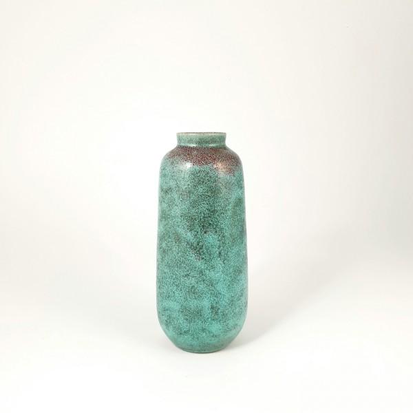 Keramik Vase, signiert Uhlemeyer, 1950er Jahre.