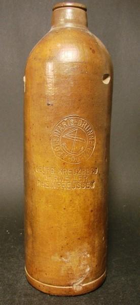 Mineralwasserflasche APOLLINARIS-BRUNNEN GEORG KREUZBERG AHRWEILER RHEINPREUSSEN.