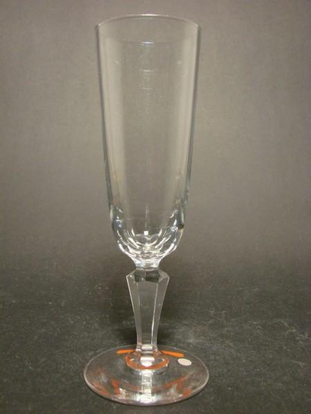 Jugendstil - Sektglas, um 1900.