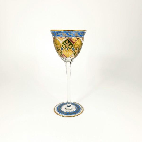 Jugendstil - Weinglas JODPHUR. Heckert / Theresienthal, um 1912.