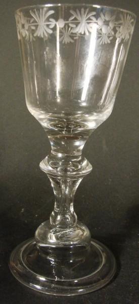 Barock - Pokalglas, 2. Hälfte 18.Jh.