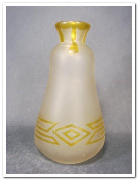 Art Deco - Vase. Legras, um 1925.