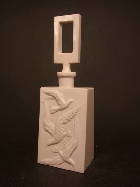 Art Deco - seltener Flakon. Heinrich Hoffmann Fa. Schlevogt, Gablonz, um 1930.