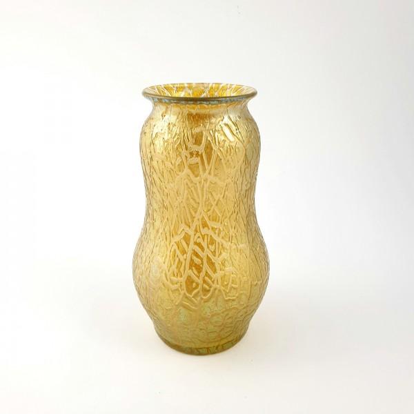 Jugendstil - Vase ''Candia Chiné''. Loetz in Klostermühle, um 1897.