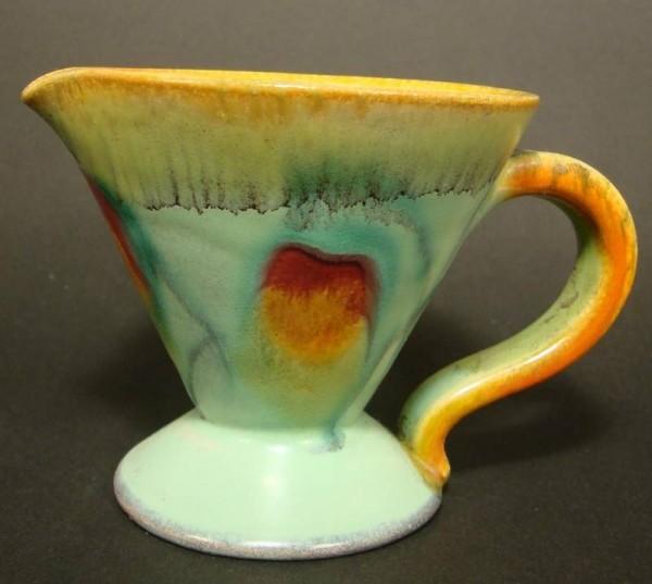Art Deco - Keramik Kännchen, 1920/30er Jahre.