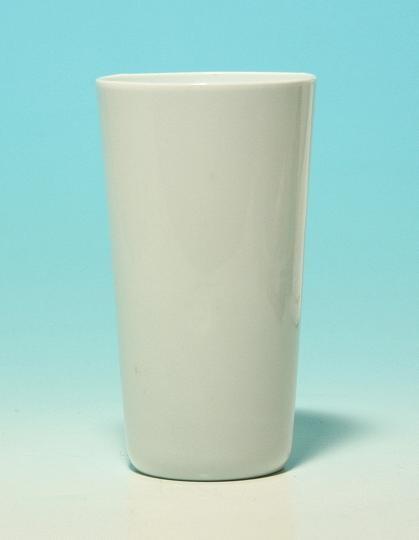 Milchglasbecher Val Saint Lambert, 1.H.20.Jh.