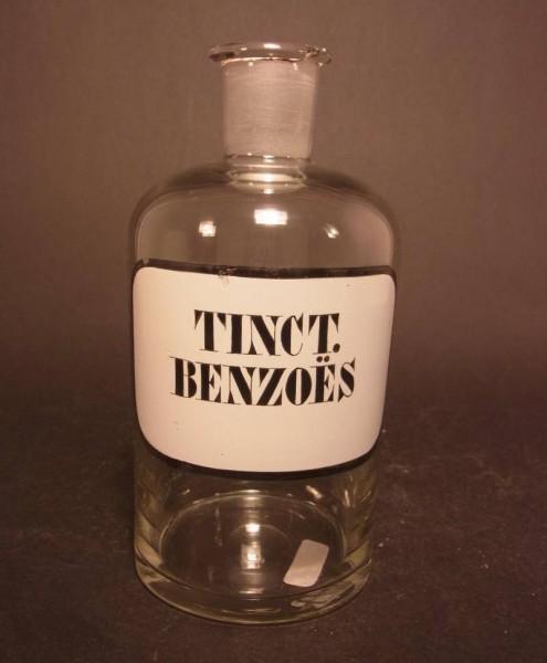 Apothekenflasche - TINCT. BENZOES.