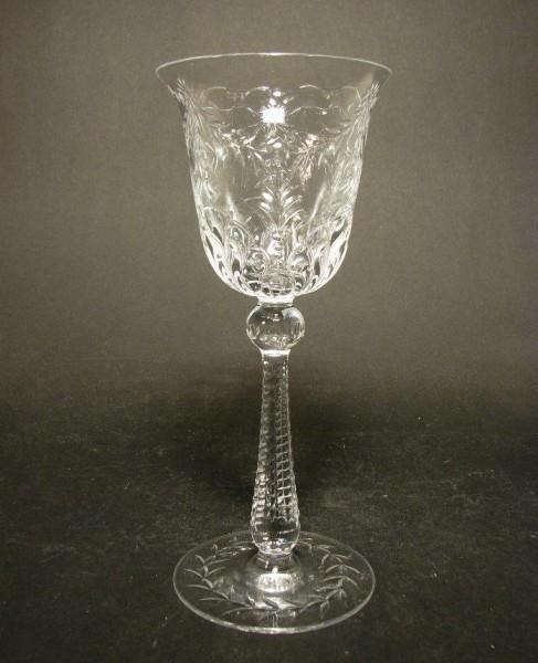 Weinglas STEFANIE aus dem Service 1392. Josephinenhütte, um 1900.