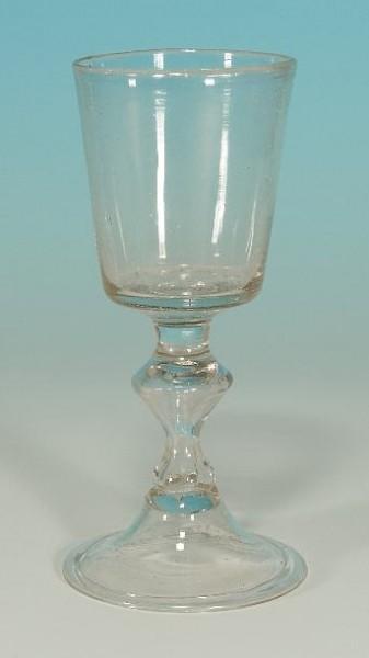 Barock - Kelchglas. Hessen, 18 Jh.