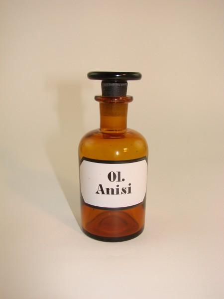 Alte Apothekenflasche Ol. Anisi.