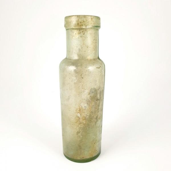Flasche, formgeblasen. 19.Jh.