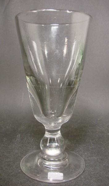 Absinthglas mit Eichstrich. Frankreich 19.Jh.