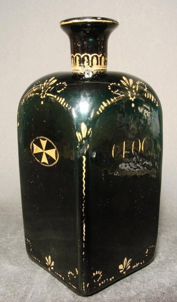 "Apothekenflasche ''C.L.O.C."", um 1800."