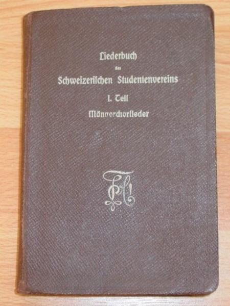 Studentika - Liederbuch des Schweizerischen Studentenvereins