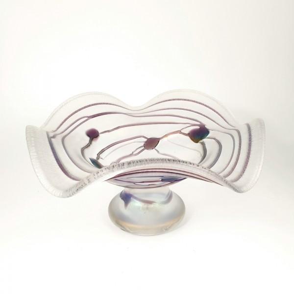 """""""Jugendstil"""" - Glasschale. Poschinger, 20.Jh."""