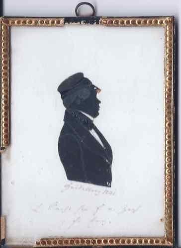 Studentika - Silhouette HEIDELBERG, 1841
