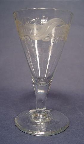 Barock - Kelchglas, 18.Jh.
