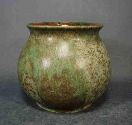 Keramik - Vase, signiert HAKENJOS KANDERN.