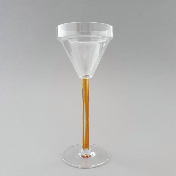 Jugendstil - Weinglas. Meyr's Neffe, um 1900.
