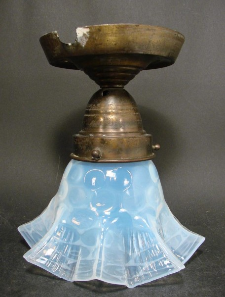 Jugendstil - Lampenschirm, um 1900.