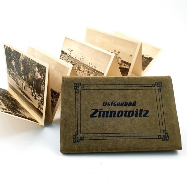 "Postkarten Leporello ""Ostseebad Zinnowitz"", um 1900."