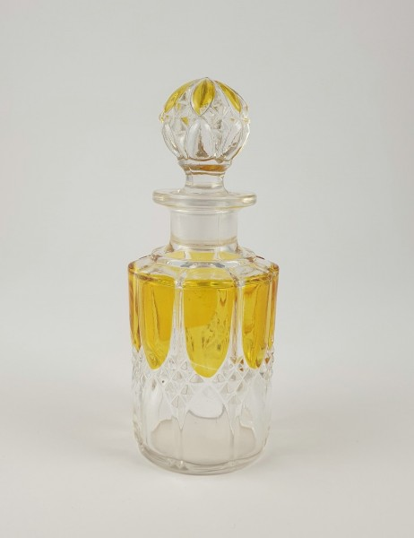 Flakon. Pressglas, um 1900.