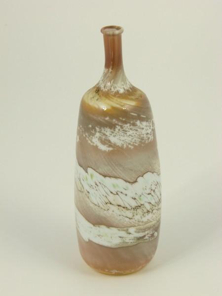 Glasvase LAUSCHA, marmoriert.