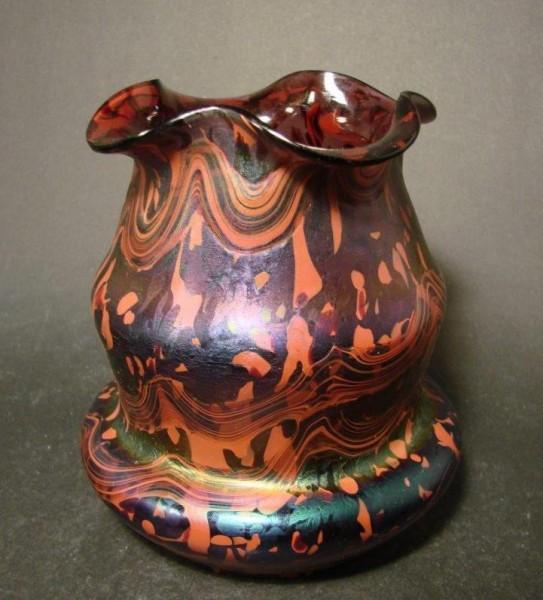 Jugendstil - Vase. Rindskopf, Böhmen um 1900.