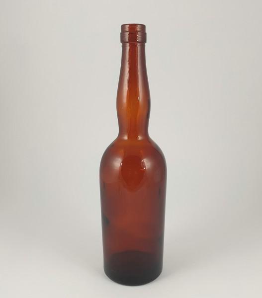 Flasche, braun. 19./.20. Jh.