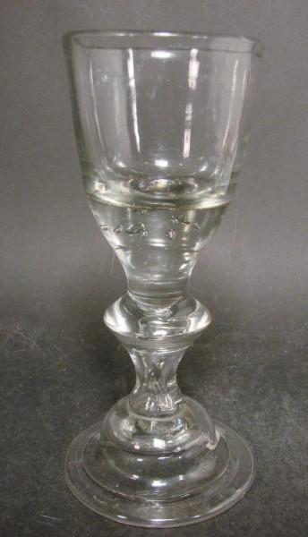 Barock - Pokalglas. Lauenstein, 18.Jh.