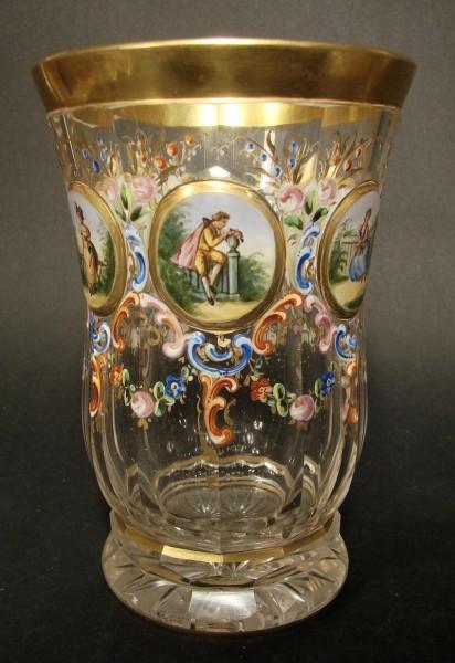 Becherglas. Meyr's Neffe in Adolf bei Winterberg, um 1880.