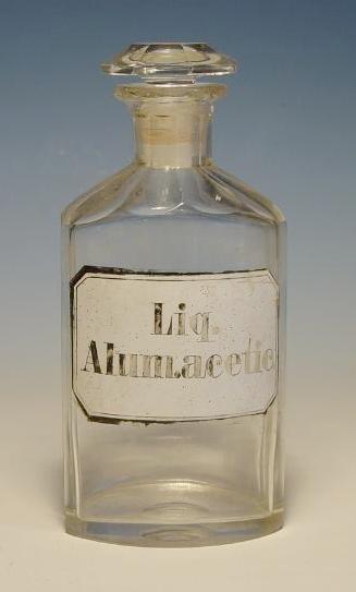 Apothekenflasche Liq. Alum. acetic.