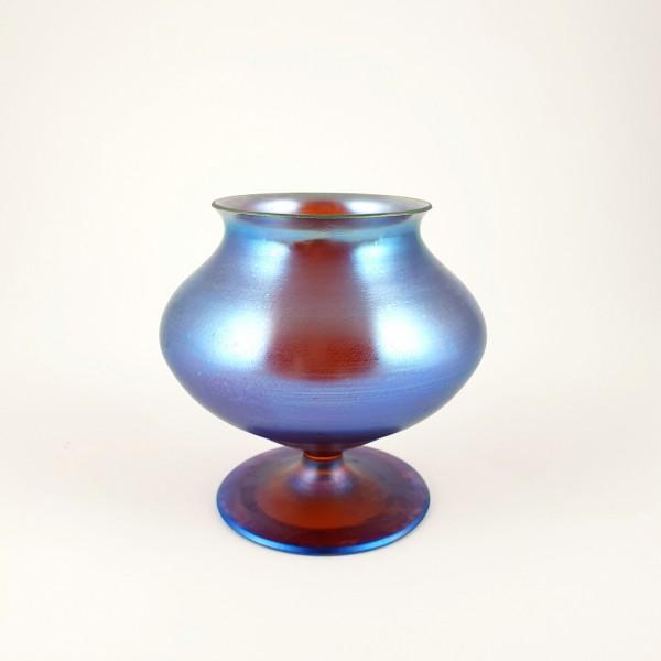 Art Deco - WMF Myra Kristall Vase, um 1930.