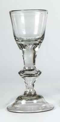 Barock - Kelchglas. Lauenstein, um 1770.