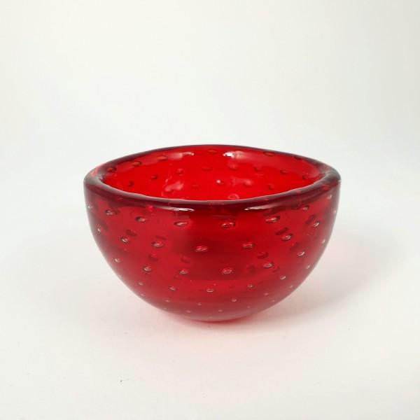 Murano - kleine Glasschale. Entwurf Carlo Scarpa für Venini.