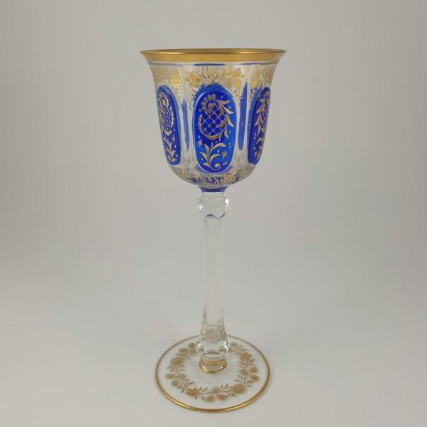 Prunk-, Römer / Weinglas. Böhmen, um 1890.