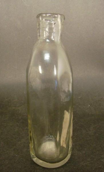 Flasche, mundgeblasen mit Abriss. 18. / 19.Jh.
