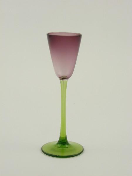 Jugendstil / Art Deco - Likörglas, wohl Koloman Moser, um 1925.