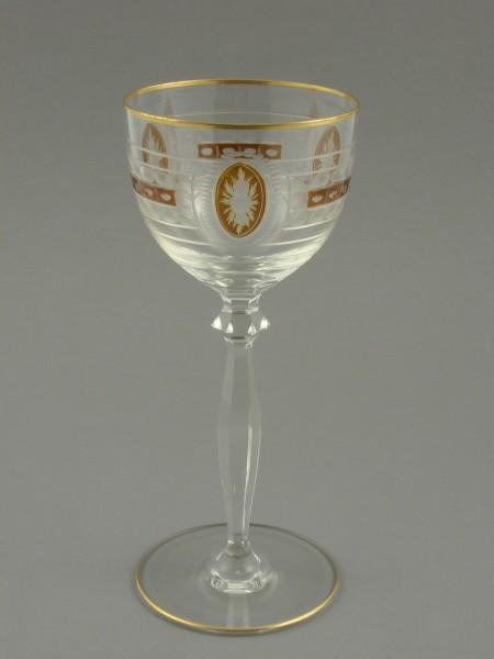 Art Deco - Weinglas, um 1930.