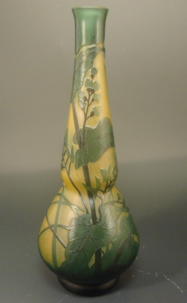 Jugendstil - Vase Vase Paul Nicolas, d'Argental Nancy um 1920 (attr.).