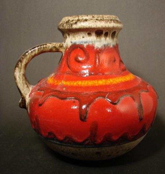 Keramik - Vase, Formnummer 423-18. Scheurich, 1970er Jahre