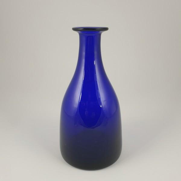 Flasche / Karaffe, kobaltblau.