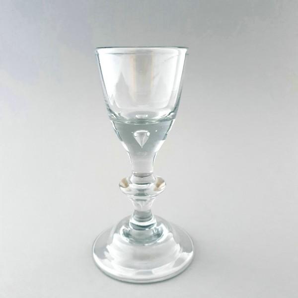 Barock - Pokalglas / Weinglas. Lauenstein, um 1770.