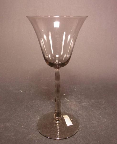 Jugendstil - Weinglas. Entwurf Edward Hald für Orrefors-Sandvik, 1920.